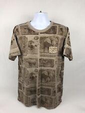 VTG 90's Binder Park Zoo Short Sleeve T-Shirt Size XL