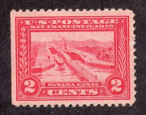 US 398 # (1913) 2c,MNH - Grade: VF/XF {Panama Canal}