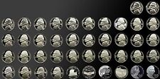 COMPLETE COLLECTION PROOF JEFFERSON NICKELS 1968-2007 42 -- GEM PROOF COINS!