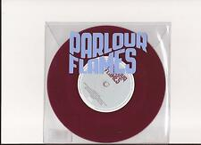"Parlour Flames - Manchester Rain / Something & Nothing  ( Red Vinyl 7"" - New  )"