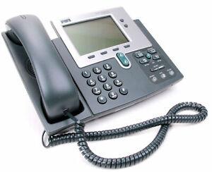 Cisco CP-7940G Ip-Phone CP7940 IP Telephone Sip Lan Poe Compatible Phone Cis _2