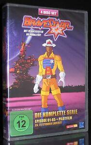 DVD BRAVESTARR - DIE KOMPLETTE SERIE 1 - 65 + PILOTFILM *** NEU ***