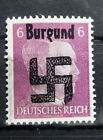 Local Deutsches Reich WWll Propaganda,Private overprint Burgund MNH