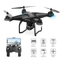 Holy stone HS120D FPV GPS drone with 1080P HD camera RC quadcopter selfie tapfly
