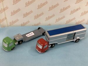 # Schuco Piccolo 742 743 Kühl Lkw Thermo Truck W. Germany (62838) Blechspielzeug