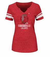 NBA Portland Trail Blazers Women NBA Women Tee Lillard XXL
