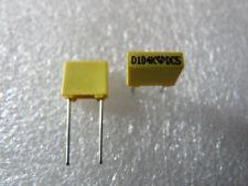 10 condensateurs MKT 100nF 63V 10% LCC Thomson