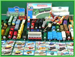THOMAS and Friends WOODEN Railway RARE & VINTAGE TRAINS for BRIO engine toy set
