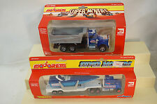 VINTAGE MAJORETTE DIECAST TOY TRUCKS CARS SUPER MOVERS LOT 2 CIGARETTE BOAT