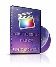 Final Cut Individual Project - Frame Forefront -  Shipping Via Download