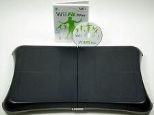 Nintendo Wii FIT PLUS mit original Nintendo Balance Board - schwarz #54092