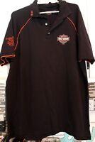 Mens Polo Shirt Harley Davidson Motorcycles XL RK Stratman HD 2004 Colorado