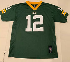 GREEN BAY PACKERS NFL TEAM APPAREL JERSEY #12 Rodgers. Youth XL