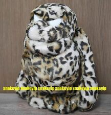 Bounty Hunter BXH Japan Rare 1st Mojar Leopard Print Kun Plush Doll 10 inch Tall