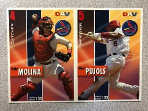 St. Louis Cardinals 2008 DAV Team Set SGA (31 Cards)
