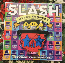 Slash Signed Living The Dream Vinyl LP Record Guns N' Roses Record Autographed