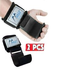 Weight Lifting Padded Gripper Hook Gym Hand Support Wrist Protector Bandages