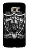 Oakland Raiders Samsung Galaxy S4 5 6 7 8 9 Edge Note 3 - 9 Plus Case Cover 05