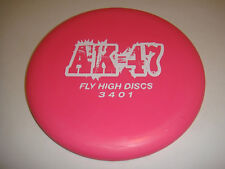 DISC GOLF FLY HIGH DISCS AK-47 STABLE PUTTER PERFECT PUTTER 173g PINK