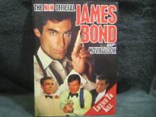 The New Official James Bond 007 Movie Book,Sally Hibbin 1989, Hardcover