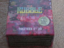 THE RUBBLE COLLECTION - 20 CD BOX SET - OVER 300 TRACKS - 182 PAGE BOOKLET