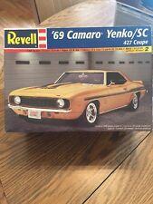 """Nice"" REVELL '69 CAMARO YENKO /SC 427  1:25 Kit  Open Box, Sealed Bags"