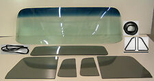 Glass 1954 Chevy GMC Pickup GB Windshield YT Vent Door Back Seals Chrm Tape