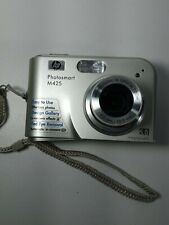 HP PhotoSmart M425 5.0MP Digital Camera - Silver- Working Condition.