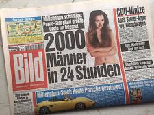 Bildzeitung vom 15.12.1999 * 17. 18. 19. 20. Geburtstag Geschenk * Porsche