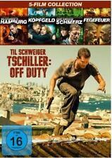 Tatort Box Set # TATORT mit Til Schweiger (1- 4) + Tschiller: Off Duty  NEU DVD