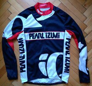 Cycling Jacket Jersey Pearl Izumi Size 'M' Long Sleeves Full Zip
