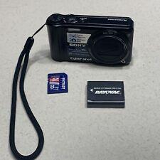Sony Cyber-shot DSC-H55 14.1MP 10x Optical Digital Camera 8 GB Card UNTESTED