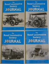 Road Locomotive Society Journal Vol 39 1986 4 issues Steam Traction Commercial +
