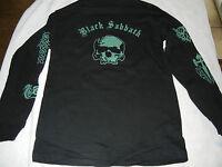 BLACK SABBATH SMALL LONG SLEEVE MENS BLACK T-SHIRTS