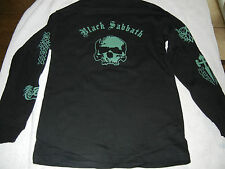 BLACK SABBATH MEDIUM LONG SLEEVE MENS BLACK T-SHIRTS