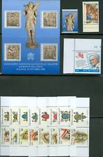 Vatican City 1998 Compete MNH Year Set