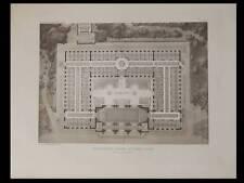 CHATEL-GUYON, ETABLISSEMENT THERMAL - 1910 - PLANCHE ARCHITECTURE - CHAUSSEMICHE