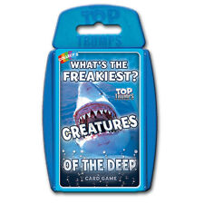 Top Trumps Creatures of the Deep NEW