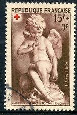 STAMP / / TIMBRE DE FRANCE OLBITERE N° 877 CROIX ROUGE 1950