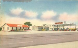 McCormick Super Station Inc 66 Cafe roadside Nationwide Postcard 21-3522