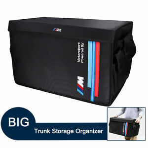 for BMW M Sport Foldable Cargo Trunk Storage Collapsible Organizers Accessories