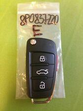 AUDI A3 TT 2004+ 4 Buttons Remote Key 8P0 837 220 E 315Mhz BLADE CUT FREE