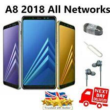 SAMSUNG GALAXY A8 (2018) A530F 32GB Sbloccato-Smartphone Dual SIM Telefono Cellulare