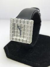 CHOPARD ICE CUBE WHITE GOLD & DIAMOND LADIES WATCH 13/6815 NEW! $28,220 RETAIL!!