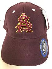 uk availability ac111 cf6ac Ahead Arizona Sun Devils Maroon Mid-Fit Hat Adjustable