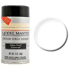 Testors Model Master Gloss Pearl Clear Coat Spray Paint Can  3 oz.  2944