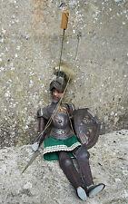 superbe marionnette à tringle ancienne -  chevalier en armure