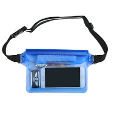 """For 4""""- 6"""" Cell Phones Waterproof Bag Pouch Swimming Drifting Dry Protector Case"""