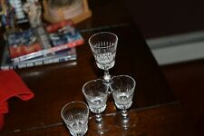 Set 4 Crystal Gucci Cordial Glasses Authentic And Marked