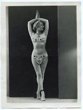 Photo Henri Manuel - Danseuse - Tirage argentique d'époque 1930's -
